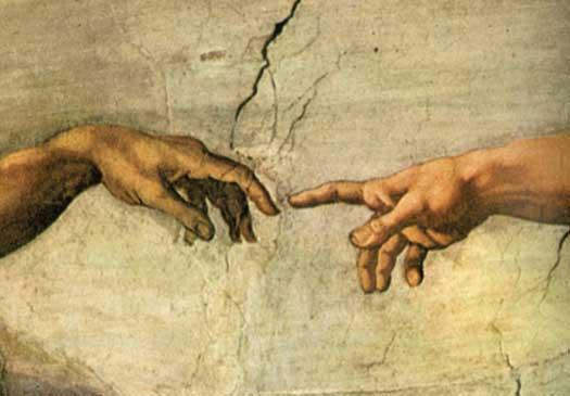 Creation-hands