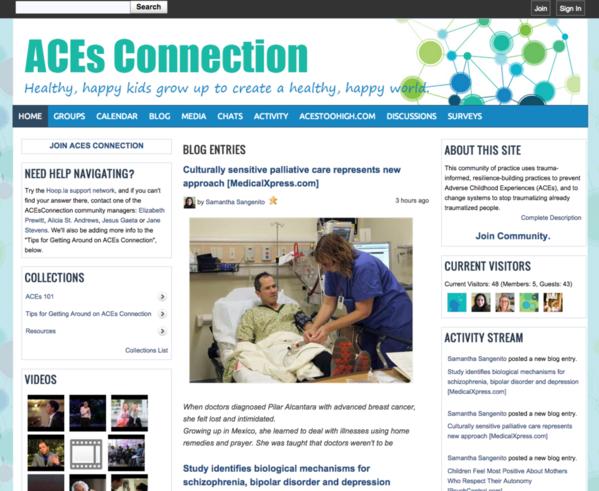 ACEsConnection Hoop.la community